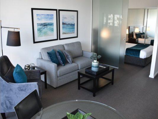 living room renovate
