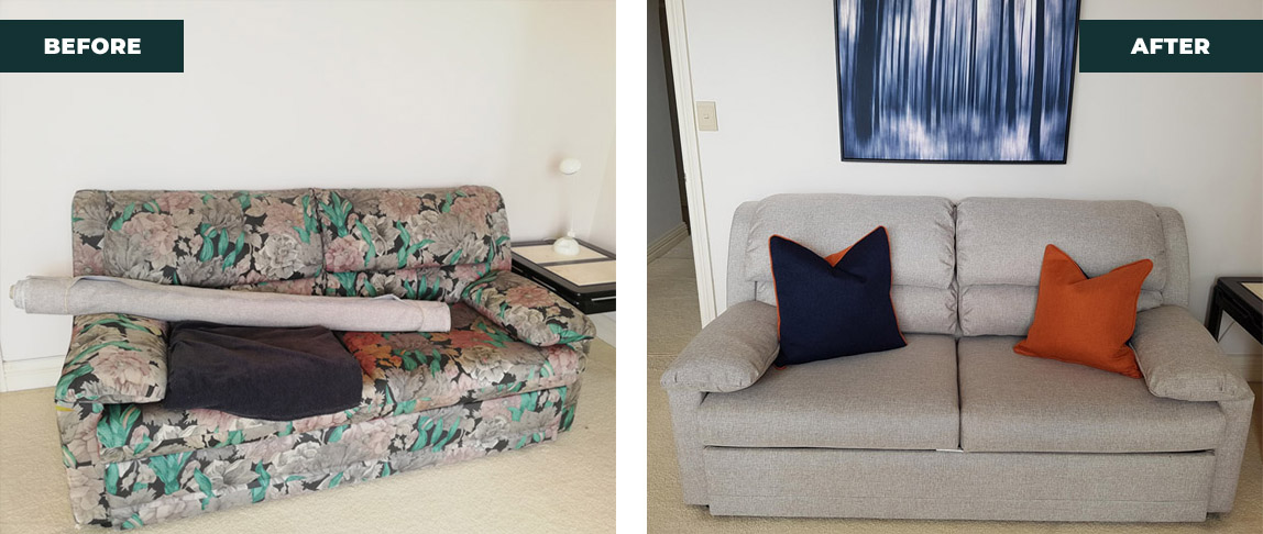 lounge upholstery makeover