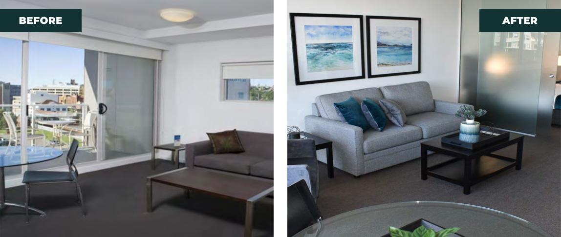 living area re designer