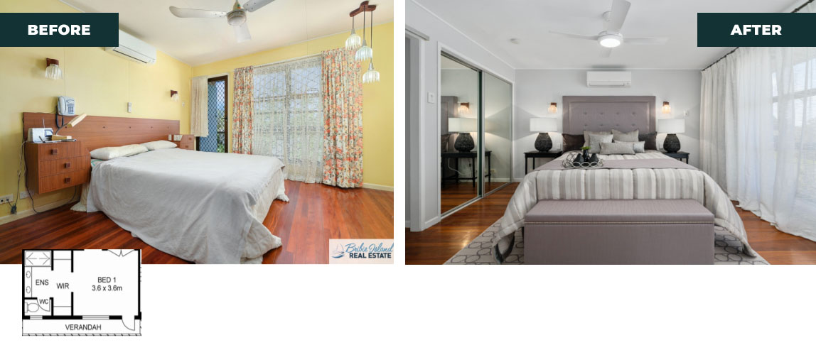 after bedroom re design