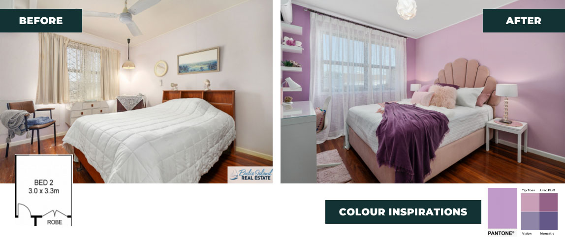 colour inspirations for bedroom