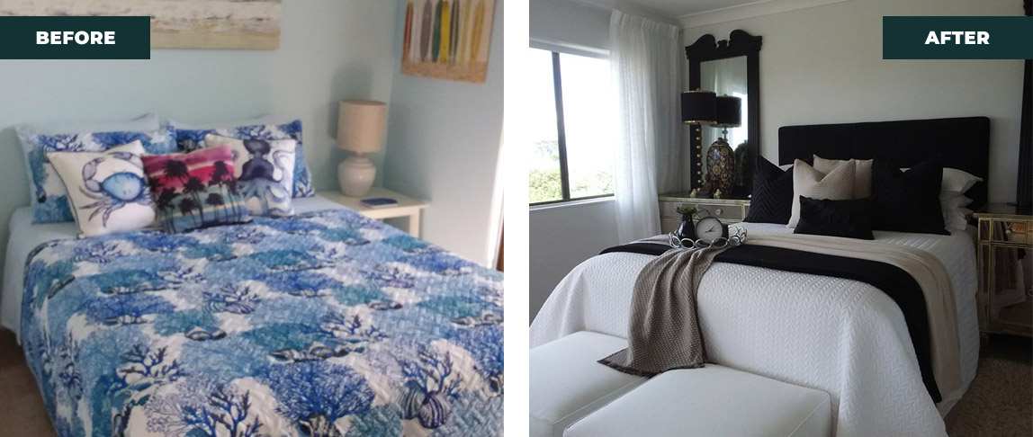 re design the bedroom