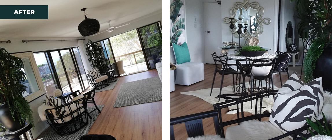 Woorim re design interior lounge room